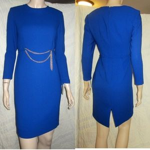 NWT! CANADIAN COUTURE Royal Blue Exec Dress